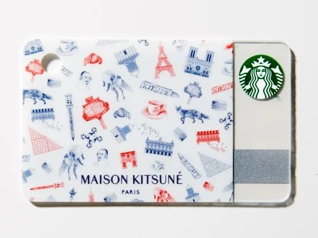 【即完売注意報】スタバカード × メゾン キツネがGQ JAPAN 2015年9月号に付属! (STARBUCKS MAISON KITSUNÉ)