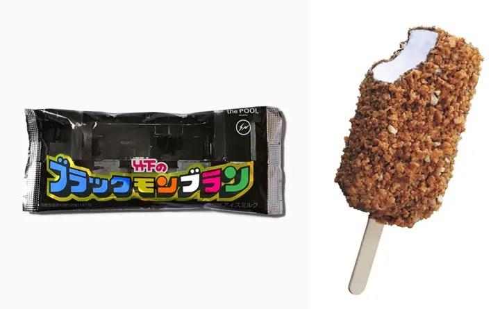 the POOL aoyamaでアイス!藤原ヒロシがデザインした「ブラックモンブラン」が今日7/31から青山で限定販売!