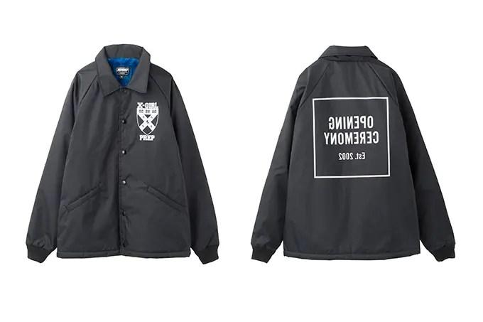 8月中旬!エックスガール × オープニングセレモニーのコーチジャケットが発売!(X-girl OPENING CEREMONY)