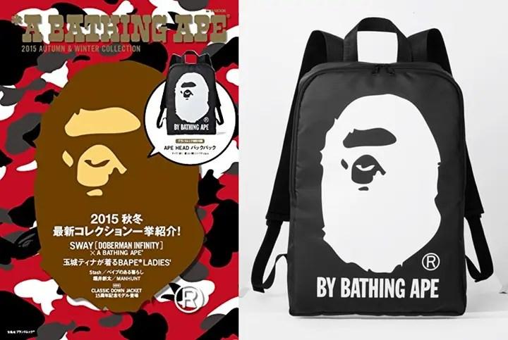 8/29からA BATHING APE 2015 AUTUMN & WINTER COLLECTION ムックが発売! (エイプ 2015年 秋冬)