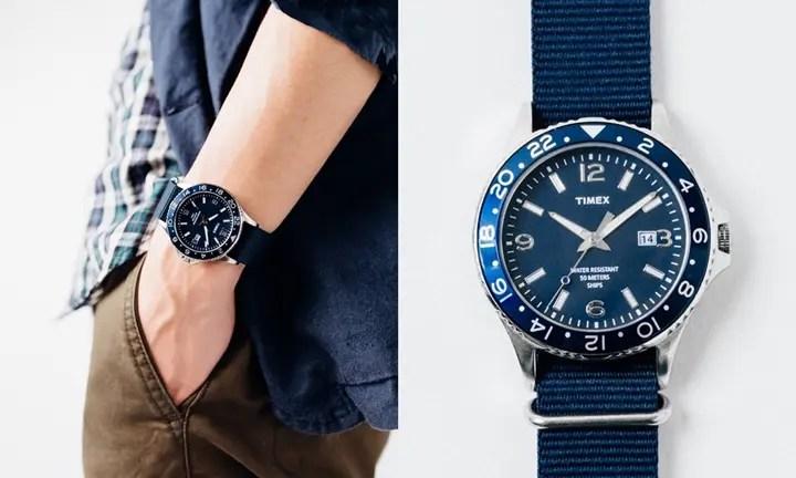 タイメックス × シップス別注の腕時計が10月上旬発売!(SHIPS TIMEX)