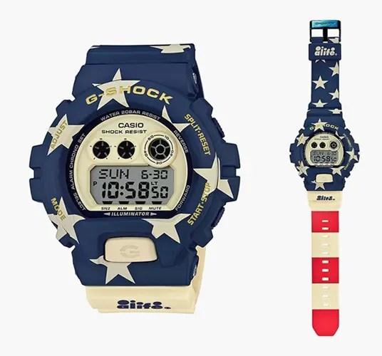 "ALIFE × G-SHOCKコラボ「GD-X6900AL-2 ""Stars & Stripes""」が9月から発売! (エーライフ ジーショック)"