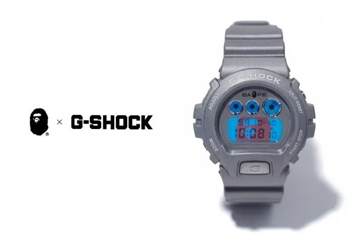 A BATHING APE × G-SHOCK「REFLECTIVE」が9/19から発売! (エイプ Gショック ジーショック)