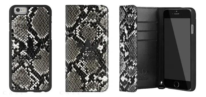 ロゴ & スネークスキン エンボス加工のアディダス オリジナルス iPhone6 ケースが発売! (adidas Originals Snake iPhone 6 CASE)
