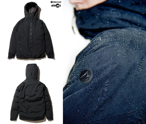 10/10発売!Marmot × ATMOSLAB 「NEVER WINTER DOWN JACKET」(マーモット アトモスラボ)