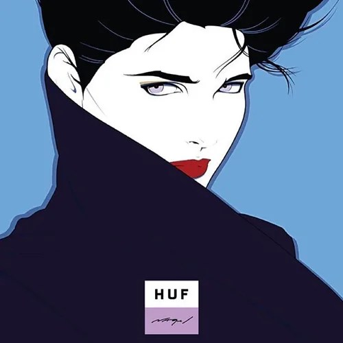 HUF x Patrick Nagelのコラボレーションアイテムがリリース予定!(ハフ パトリック ナーゲル)