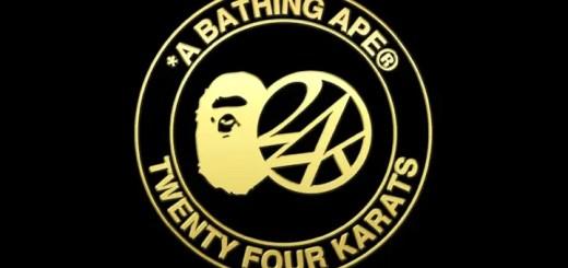 10/31発売!A BATHING APE × 24karats コレクション第2弾がラインナップ! (エイプ 24カラッツ)