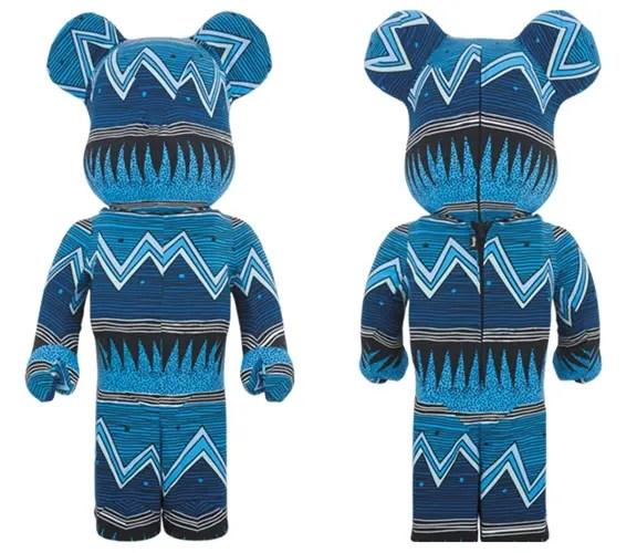 STUSSYのテキスタイル生地を使用した着ぐるみ仕様の1000% BE@RBRICKが12月発売! (ステューシー ベアブリック)