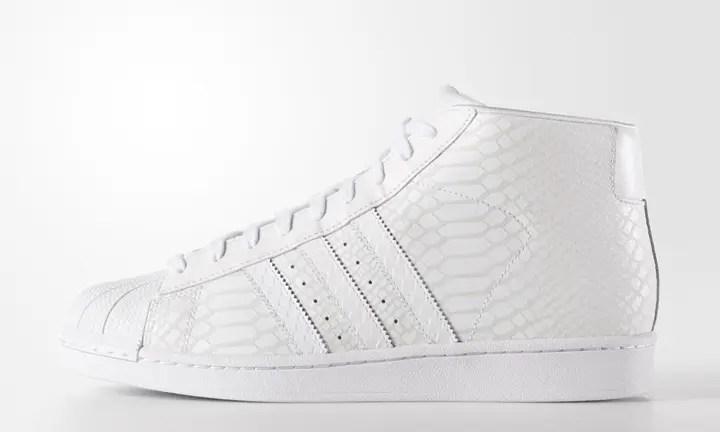 海外展開!オールホワイト スネークパターンのアディダス オリジナルス プロモデル (adidas Originals PRO MODEL White Snake Pattern) [D69287]