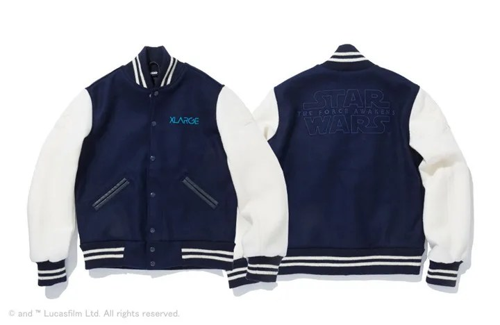 "X-large 「STAR WARS ""Episode VII The Force Awakens"" VARSITY JACKET」が予約受付開始!(エクストララージ スターウォーズ)"