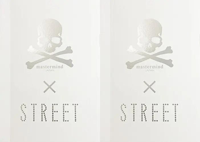 12/23発売!mastermind JAPAN × STREETがコラボ!「mastermind × STREET」が発売! (マスターマインドジャパン ストリート)