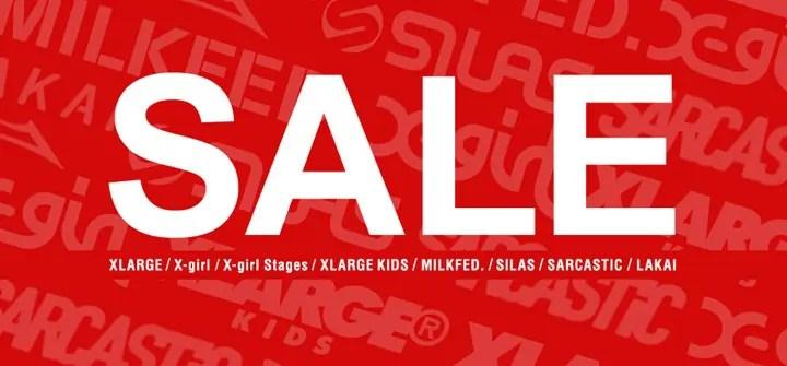 X-large、X-girl、SILAS等のcalifでセールが開催中! (エックスガール エクストララージ サイラス Sale)