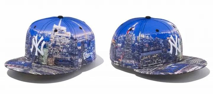 ニューヨークの夜景をサブリメーションプリントしたNew Era 59FIFTY「City Landscape Night View」が発売! (ニューエラ)