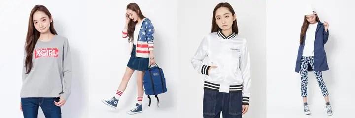 【オンライン1/29 20時~】X-girl 2016 SPRING アイテムがリリーススタート! (エックスガール 2016年 春モデル)