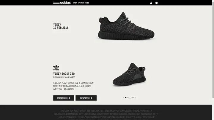 """【国内2/19再発売】adidas Originals YEEZY 350 BOOST LOW """"PIRATE BLACK"""" (アディダス オリジナルス カニエ ウェスト イージー ブースト Kanye West)"""