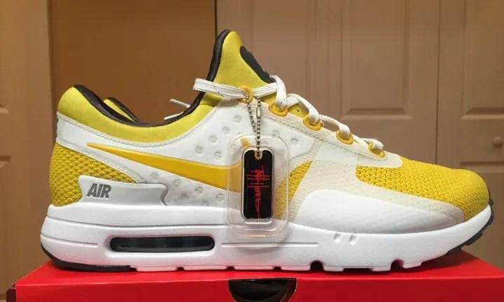 【原点のZEROモデル】3/26or27発売予定!ナイキ エア マックス ゼロ ホワイト/イエロー (NIKE AIR MAX ZERO White/Yellow) [789695-100]