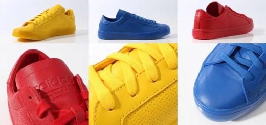 """3/5発売!アディダス オリジナルス コートバンテージ """"アディカラー"""" パック (adidas Originals CourtVantage """"AdiColor"""" Pack) [S80252,3,4]"""