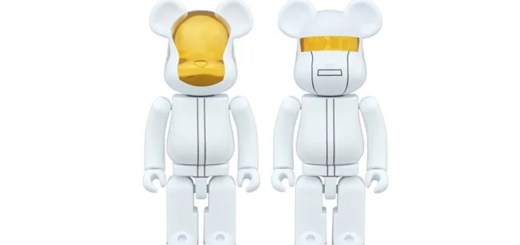 DAFT PUNKが超合金 ベアブリックに!WHITE SUITS Ver 2体セットが3/10 23:59まで受注生産! (ダフトパンク BE@RBRICK)