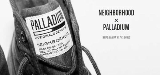 NEIGHBORHOOD × PALLADIUM PAMPA HI! (ネイバーフッド プール パラディウム パンパ ハイ)