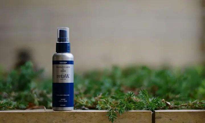 デニム専用リフレッシュナー!retaW Fragrance Liquid for DENIM MOOD*が発売! (リトゥ)