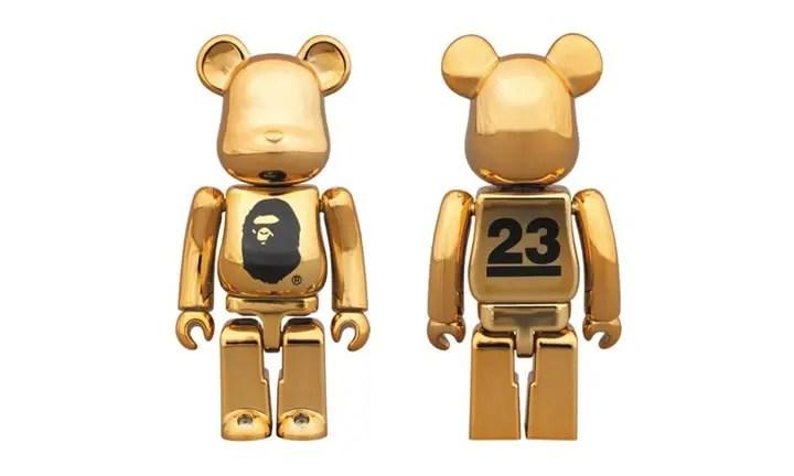 NOWHERE 23周年!A BATHING APE GOLD BE@RBIRCKが4/2発売! (ノーウェア エイプ ベアブリック)