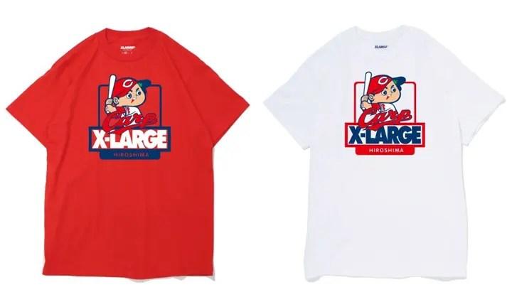 広島東洋カープ × X-largeのコラボTEEがXLARGE/X-girl HIROSHIMAで4/22限定発売! (エクストララージ)