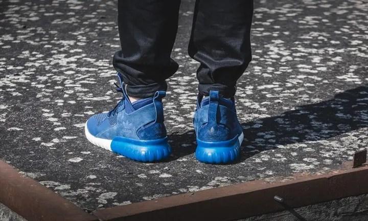 海外展開!アディダス チュブラー X ブルー (adidas TUBULAR X Blue) [S74926]