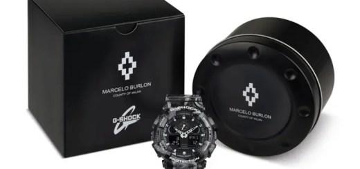 6/1発売!Marcelo Burlon × G-SHOCK GA-100 (マルセロ・バーロン ジーショック Gショック)