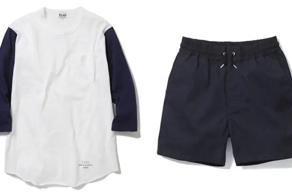 SILASからベースボールシャツにインスパイアされたハーフスリーブTEE/イージーショーツが発売中! (サイラス)