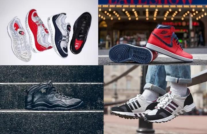 """【まとめ】4/30発売の厳選スニーカー!(SUPREME x NIKELAB AIR MAX 98)(AIR JORDAN X """"NYC City"""" Pack)(AIR JORDAN 1 RETRO HIGH OG """"David Letterman"""")(Footpatrol adidas CONSORTIUM Equipment Running Cushion 93)他"""