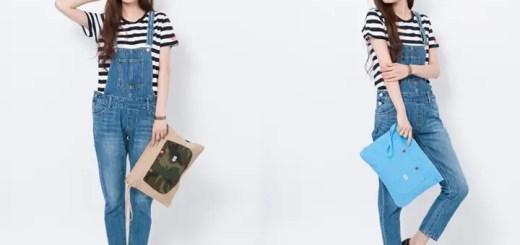 ECサイト限定カラー!X-girl × Lee CLUTCH BAG SET/STRIPEが発売! (エックスガール リー クラッチ バッグ)