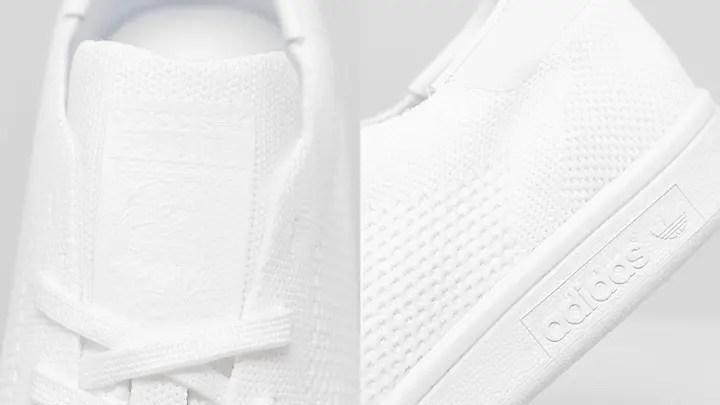 """トリプルホワイトのアディダス オリジナルス スタンスミス プライムニット OGが海外展開! (adidas Originals STAN SMITH OG PRIMEKNIT """"Triple White"""")"""