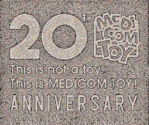 MEDICOM TOY 20周年!新店「メディコム・トイ プラス」が表参道ヒルズにオープン!2016-17年 新作展示会「MEDICOM TOY 20th ANNIVERSARY EXHIBITION」も開催!