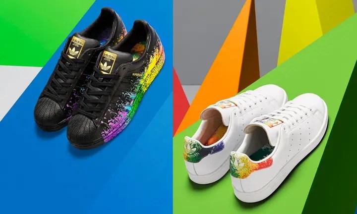 """国内6/16発売!adidas Originals """"Pride Pack"""" 2016 SUPERSTAR/STAN SMITH (アディダス オリジナルス """"プライド"""" パック スーパースター/スタンスミス) [BB1686,7][D70351]"""