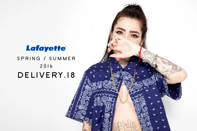 Lafayette 2016 SPRING/SUMMER COLLECTION 18th デリバリー!6/11から発売!(ラファイエット)