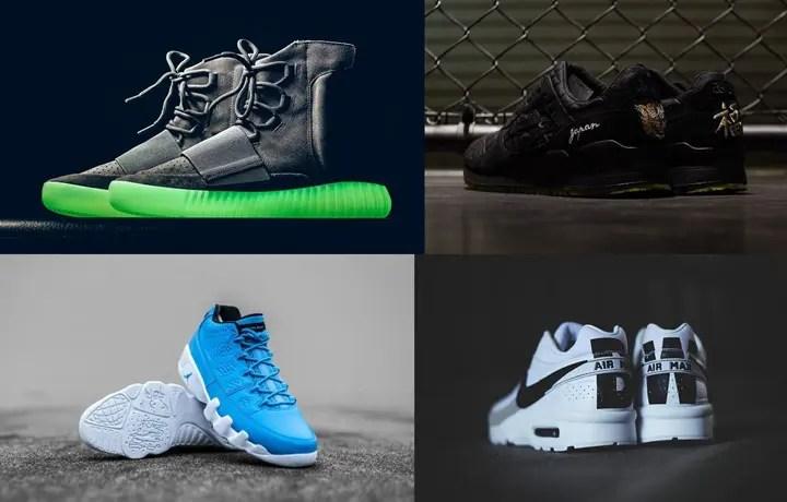 """【まとめ】6/11発売の厳選スニーカー!(adidas Yeezy 750 BOOST """"Light Grey"""")(BEAMS x mita sneakers × ASICS Tiger GEL-LYTE III """"Souvenir Jacket"""")(NIKE AIR JORDAN 9 LOW """"UNIVERSITU BLUE"""")(AIR MAX BW PREMIUM """"White/Black"""")他"""