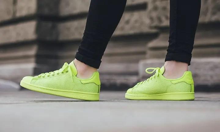 """海外展開!アディダス オリジナルス スタンスミス """"ソーラー イエロー"""" (adidas Originals STAN SMITH """"Solar Yellow"""") [BB4996]"""