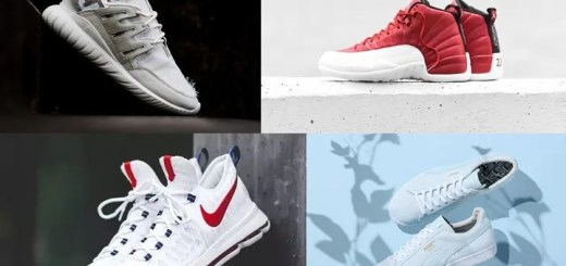 "【まとめ】7/2発売の厳選スニーカー!(NIKE AIR JORDAN 12 ""Gym Red/White"")(SLAM JAM adidas Originals consortium TUBULAR NOVA)(NIKE ""USA"" KD9/KOBE XI ELITE LOW/KYRIE 2 EP)他"
