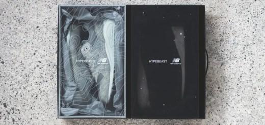 """Hypebeast × New Balance 580 """"LAND & SPACE"""" PACKが8/6から展開! (ハイプビースト ニューバランス ランド スペース パック)"""