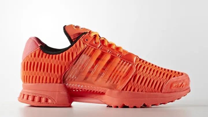 """海外展開!トリプルレッド/グレーのアディダス クライマクール 1 (adidas CLIMACOOL 1 """"Triple Red/Grey"""") [BA8575,7]"""