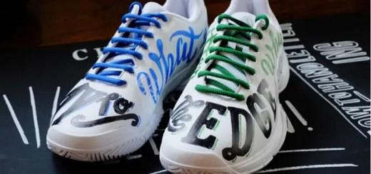 """adidasから自由に塗れるシューズ""""BARRICADE adicolor""""が限定店舗にて8/24から発売開始! (アディダス バリケード アディカラー) [AQ2260]"""