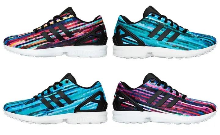 Men S Adidas Originals Zx Flux Digi Casual Shoes