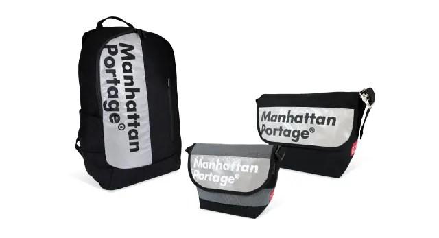 Manhattan Portageからリフレクターを採用し安全性と実用性を融合した機能美溢れる限定シリーズ「Logo on Reflector」が9/3に発売! (マンハッタンポーテージ)