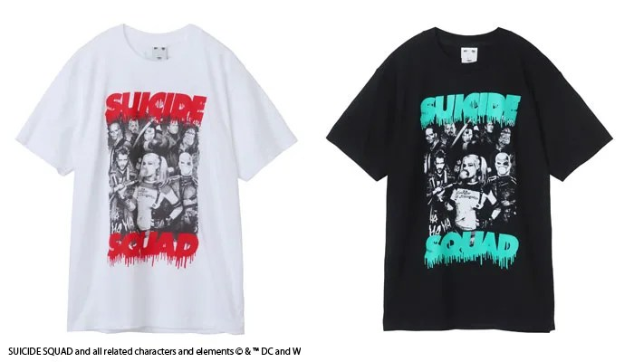 「SUICIDE SQUAD」公開記念!X-girlとのコラボアイテムが9/9から発売! (エックスガール スーサイド・スクワッド)