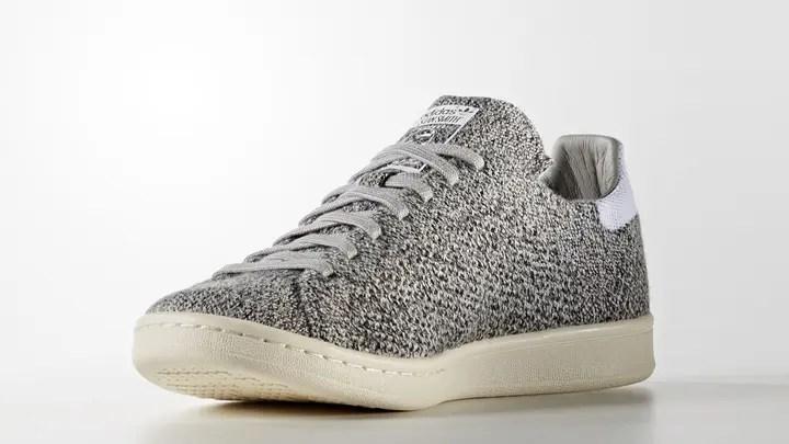 """アディダス オリジナルス スタンスミス プライムニット """"マルチ ソリッド グレー"""" (adidas Originals STAN SMITH PRIMEKNIT """"Multi Solid Grey"""") [S80069]"""