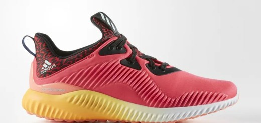 """adidas WMNS ALPHA BOUNCE """"Shock Red/Crystal White"""" (アディダス ウィメンズ アルファ バウンス """"ショック レッド/クリスタル ホワイト"""") [B54204]"""