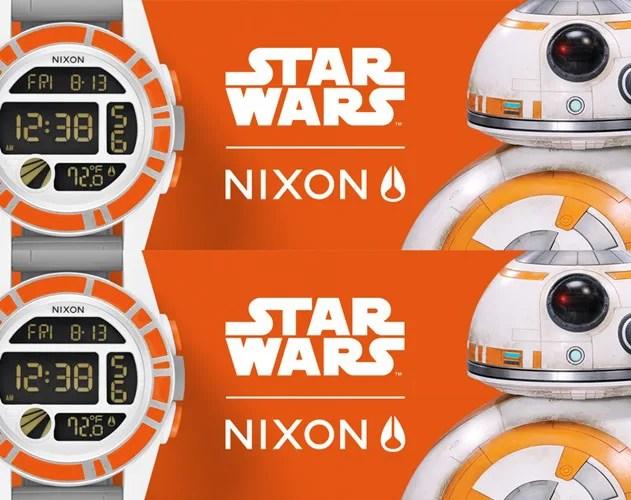 NIXON × STAR WARSコレクション!「BB-8」をイメージしたシリーズが発売!(ニクソン スターウォーズ)