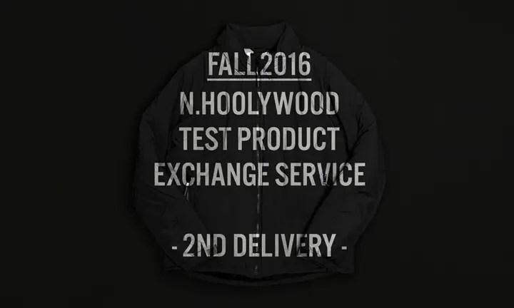 N.HOOLYWOOD TEST PRODUCT EXCHANGE SERVICE 2nd DELIVERYが展開中! (エヌハリウッド テスト プロダクト エクスチェンジ サービス)