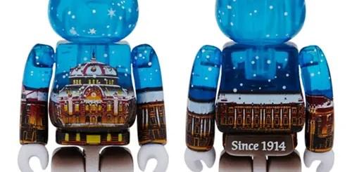 東京駅に雪が舞う!丸の内駅舎モデル Snow Ver BE@RBRICKが発売! (ベアブリック)