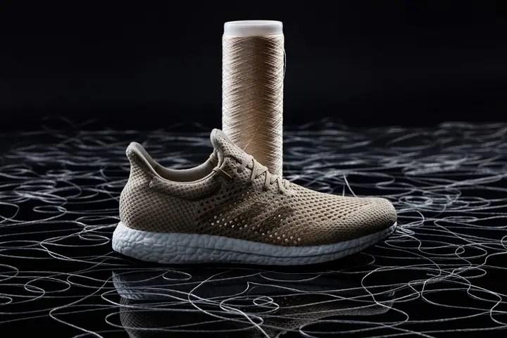 アディダスから世界初とな「Biosteel ファイバー製」高性能シューズを発表! (adidas)